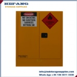 Australia 160 Liter hazardous goods storage cabinet for flammable liquid